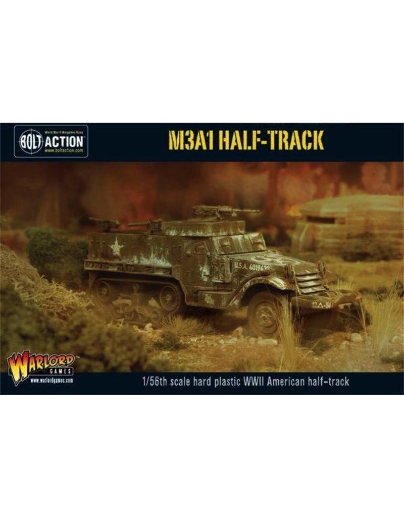 Bolt Action BA American Army: M3A1 Halftrack (Plastic)