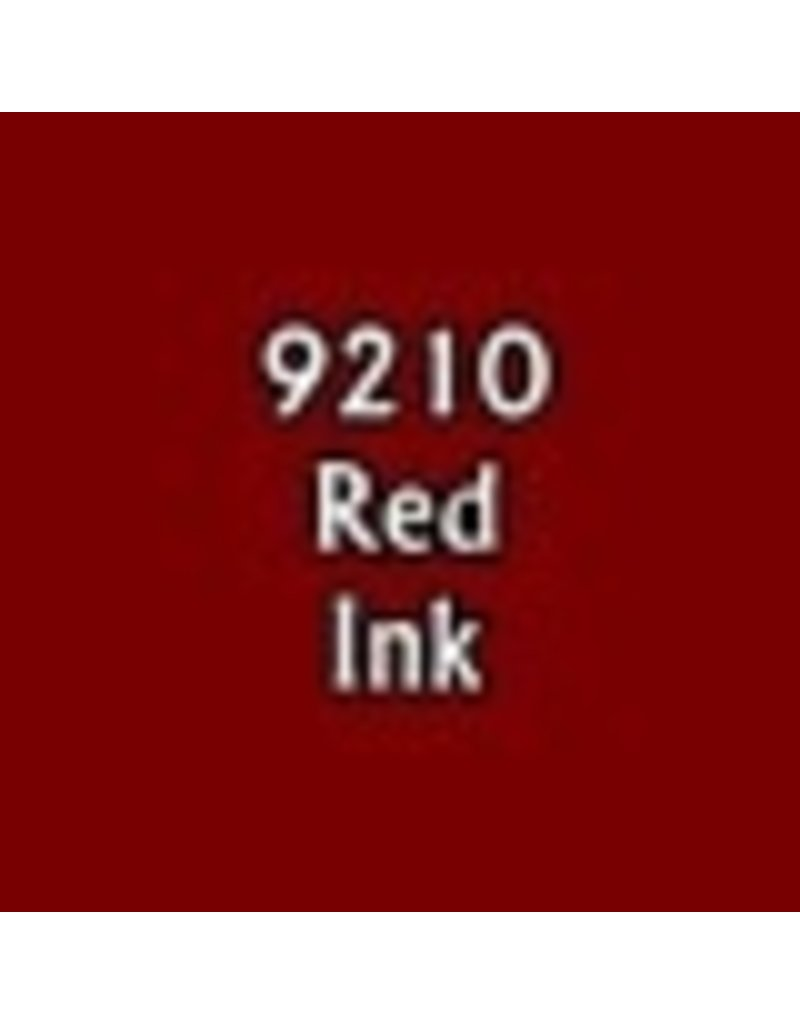 Reaper Paints & Supplies RPR09210 MS Red Ink