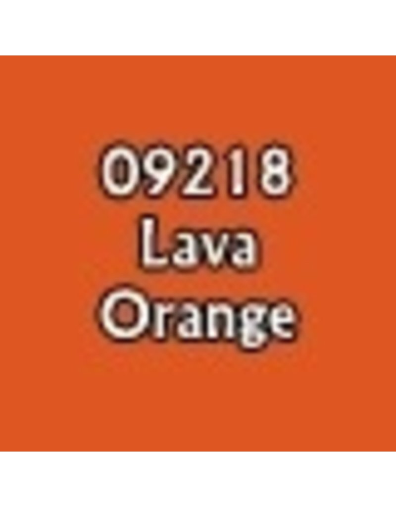 Reaper Paints & Supplies RPR09218 MS Lava Orange
