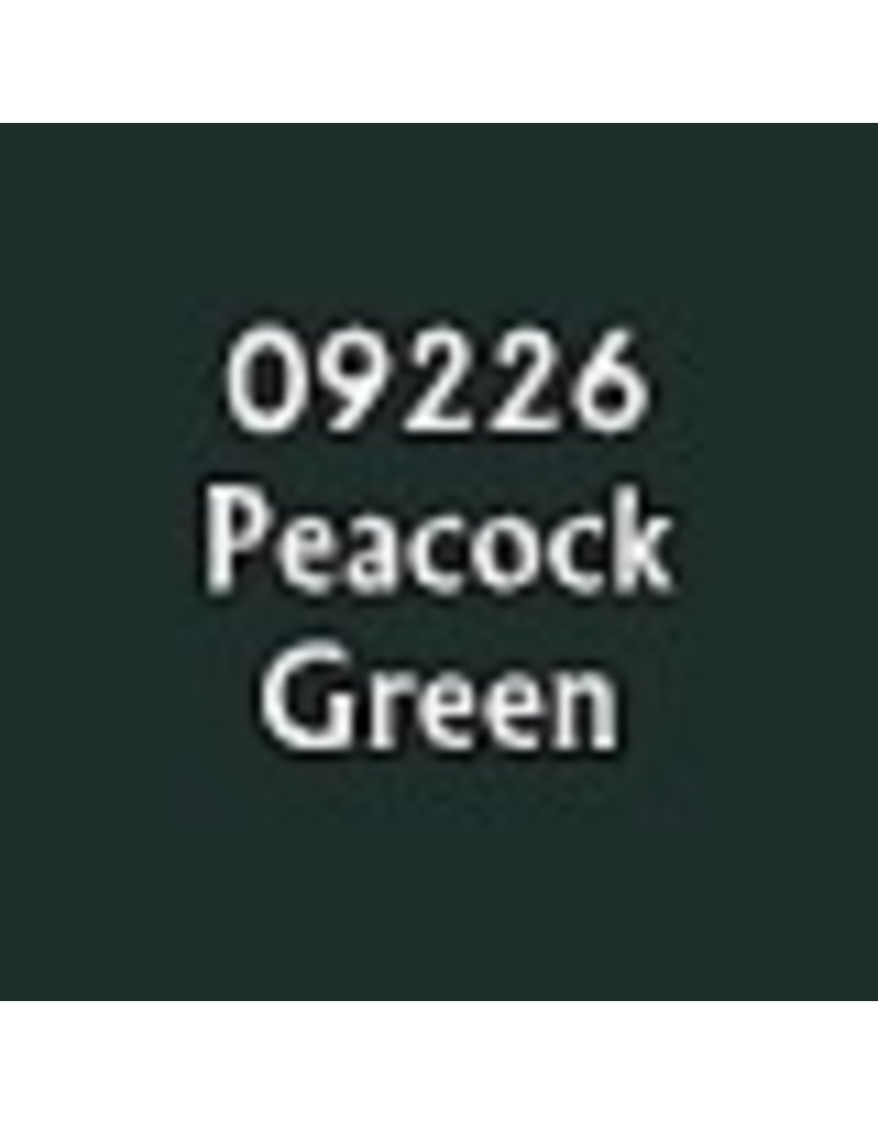 Reaper Paints & Supplies RPR09226 MS Peacock Green