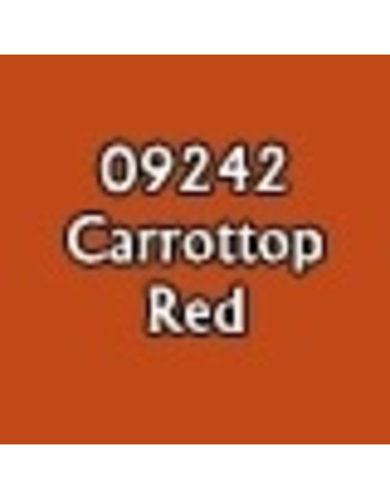 Reaper Paints & Supplies RPR09242 MS Carrottop Red