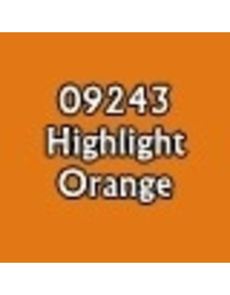 Reaper Paints & Supplies RPR09243 MS Highlight Orange