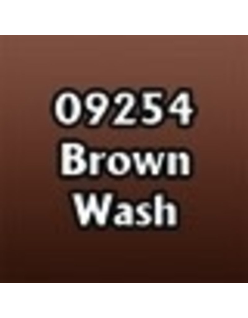 Reaper Paints & Supplies RPR09254 MS Brown Wash