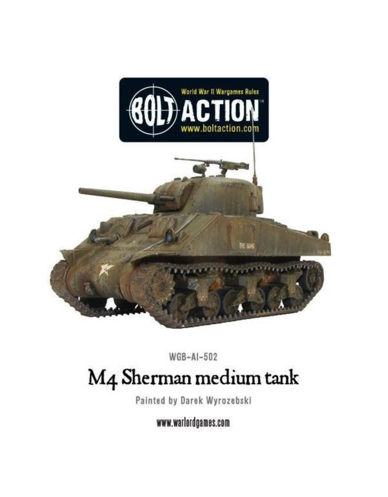Bolt Action BA American Army: M4 Sherman (75) Plastic