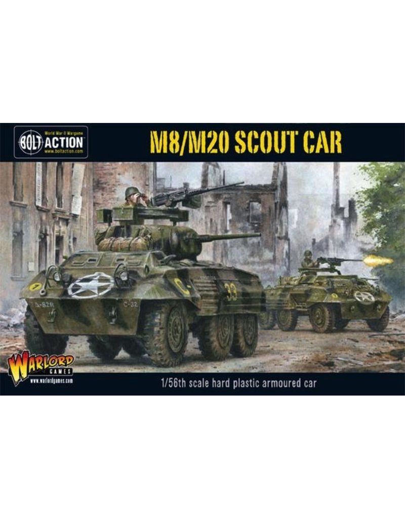 Bolt Action BA American Army: M8/M20 Greyhound Scout Car (Plastic)