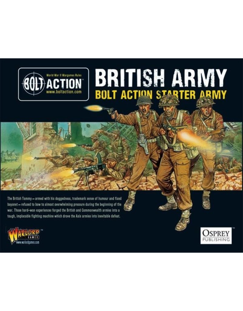Bolt Action BA British Army: 1000pt Starter Army