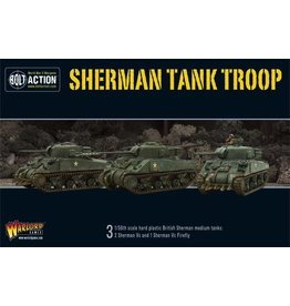 Bolt Action BA British Army: Sherman V Troop (3) Incl. Firefly