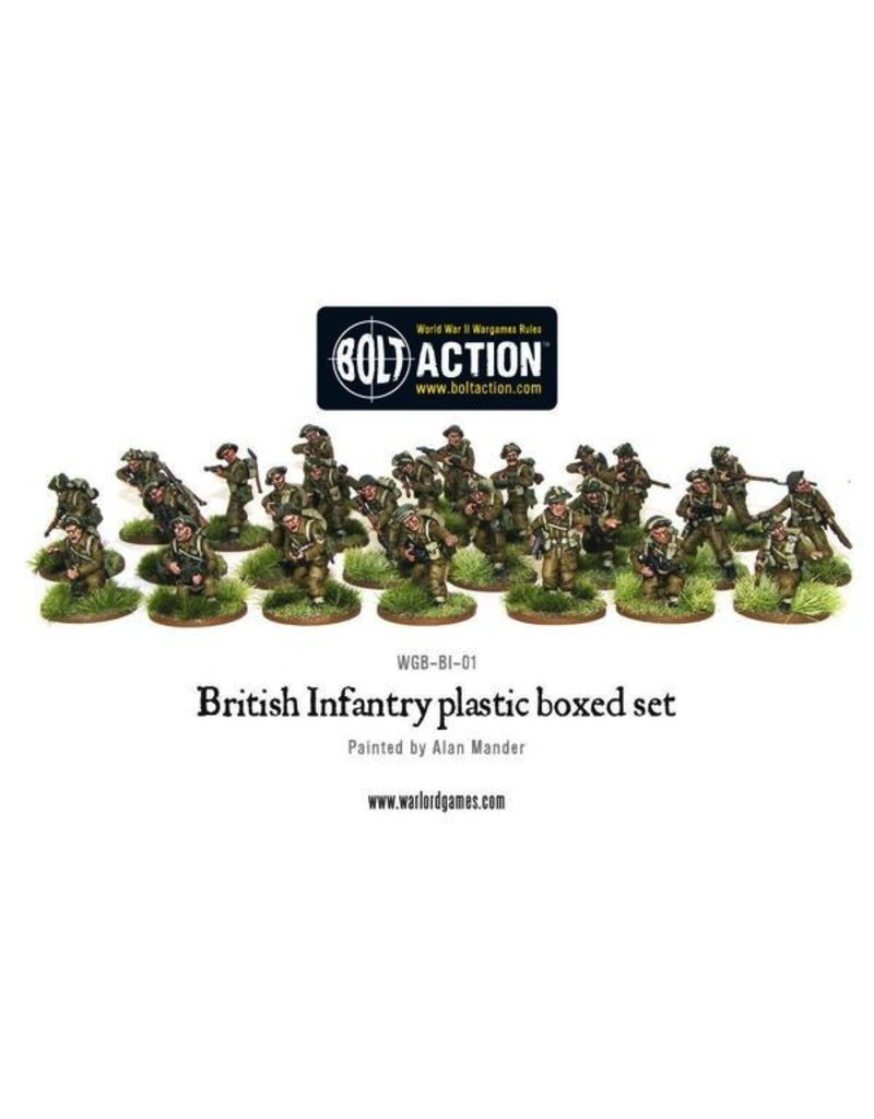 Bolt Action BA British Army: Infantry (25)