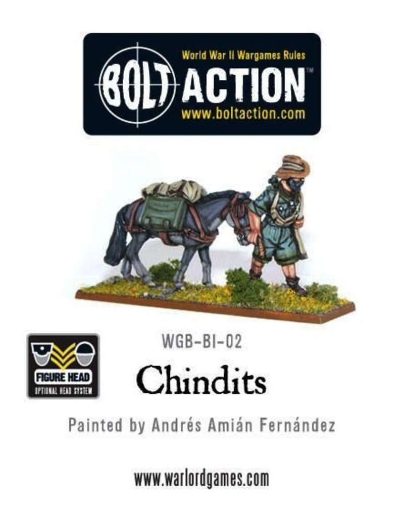 Bolt Action BA British Army: Chindits (20)