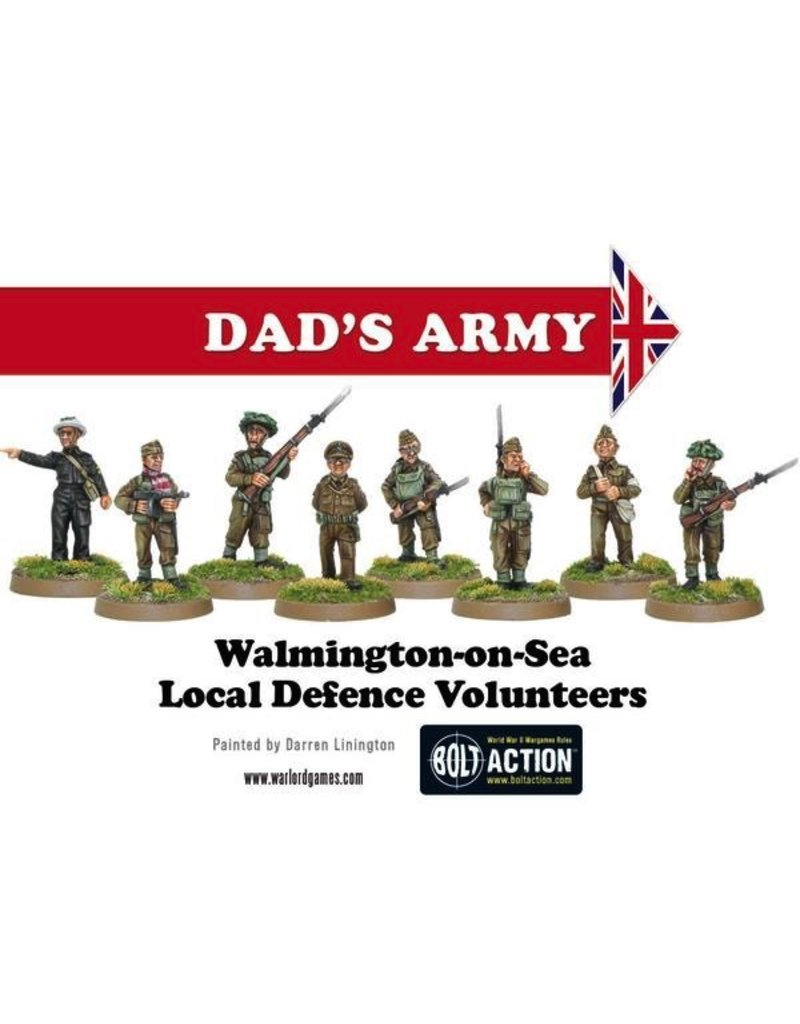 Bolt Action BA British Army: Dad's Army - Home Guard Platoon