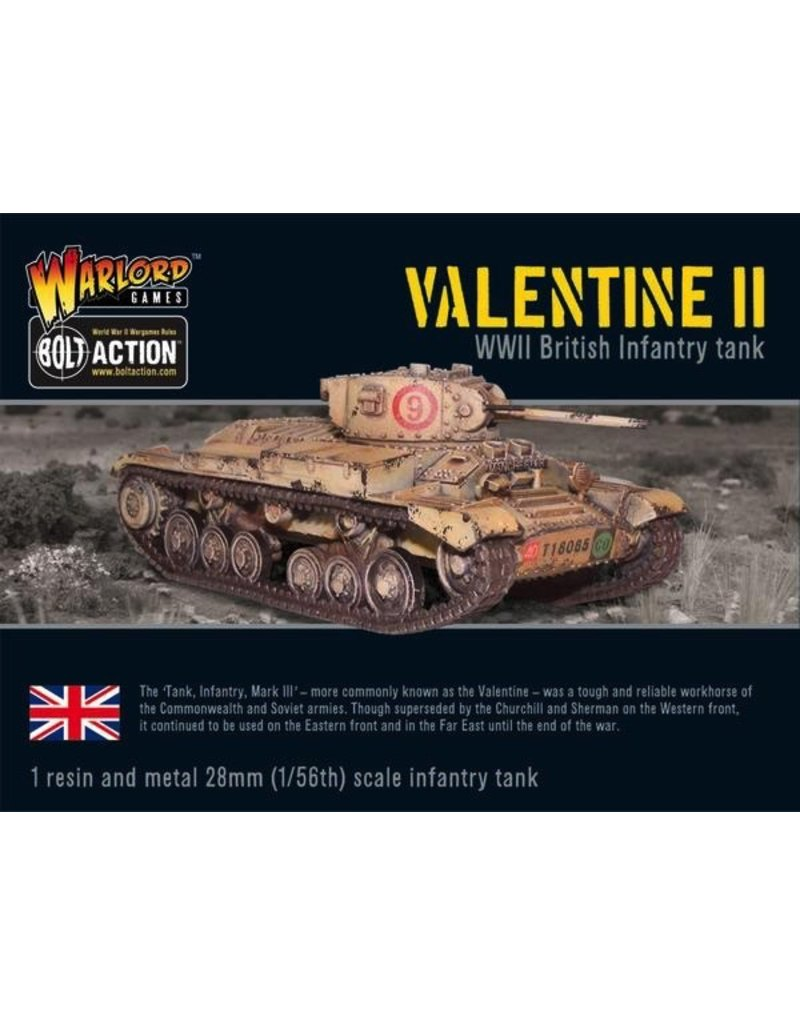 Bolt Action BA British Army: Valentine II Cruiser Tank