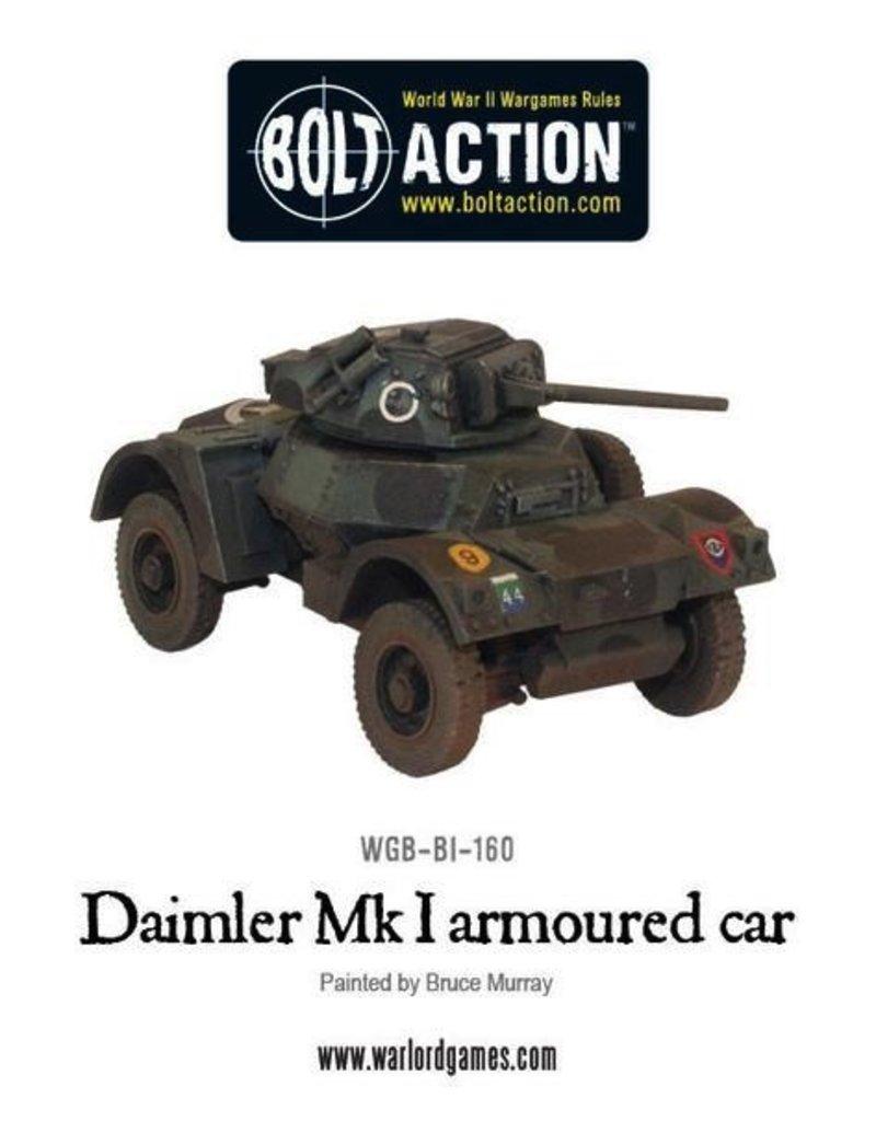 Bolt Action BA British Army: Daimler Armoured Car