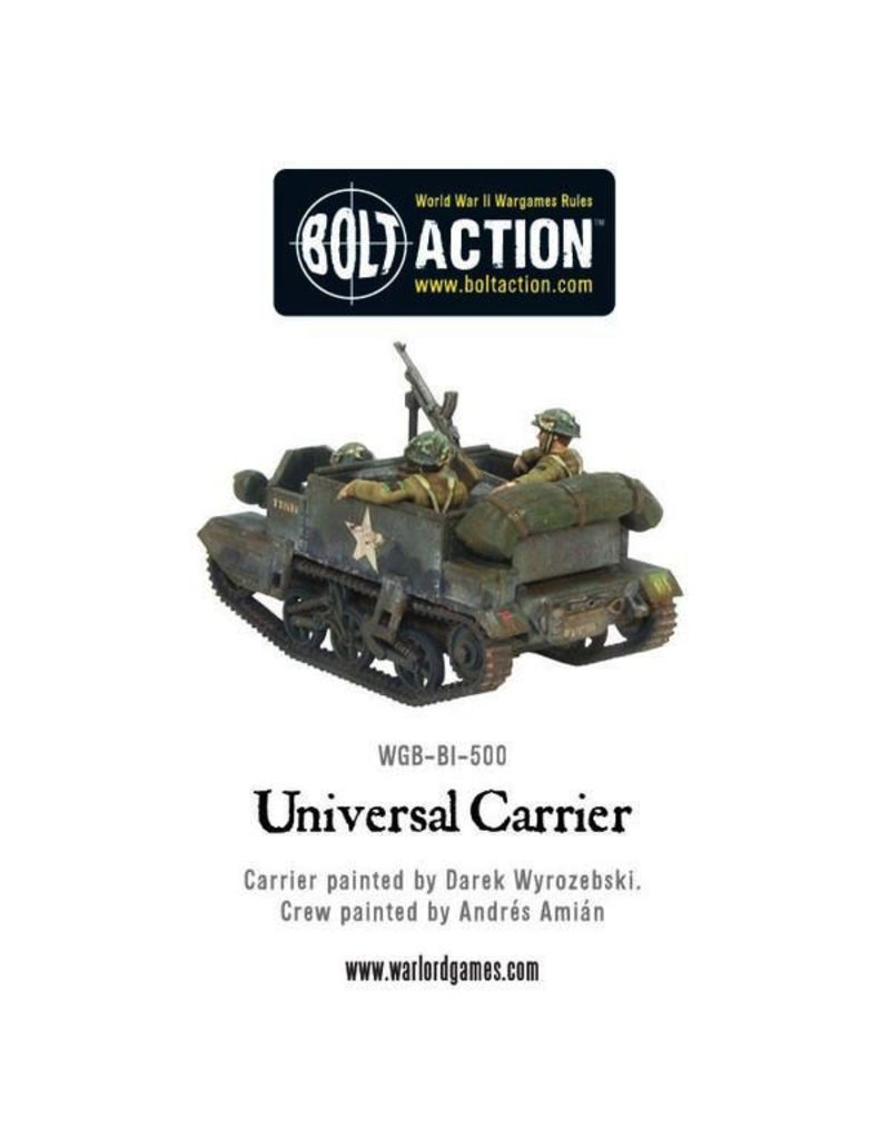 Bolt Action BA British Army: Universal Carrier
