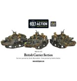 Bolt Action BA British Army: British Carrier Section