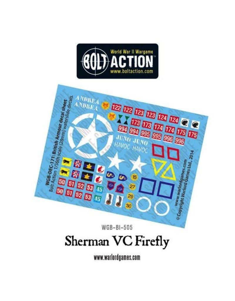 Bolt Action BA British Army: Sherman Firefly Vc