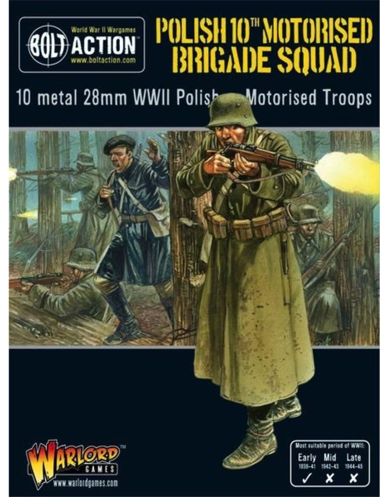 Bolt Action BA Polish Army: 10th Motorised Brigade Squad