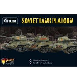 Bolt Action Bolt Action Starter Set - Soviet Armoured Platoon (3 T-34's plus infantry)