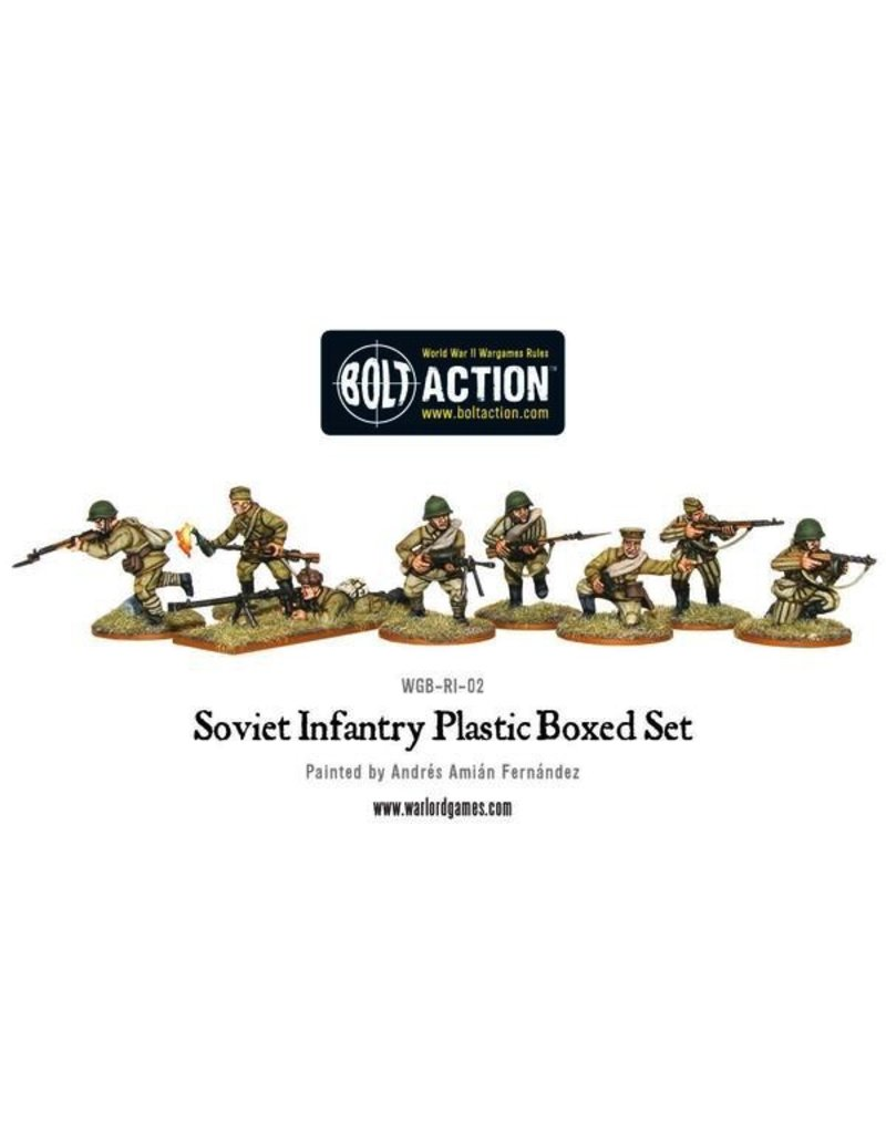 Bolt Action BA Soviet Army: Infantry