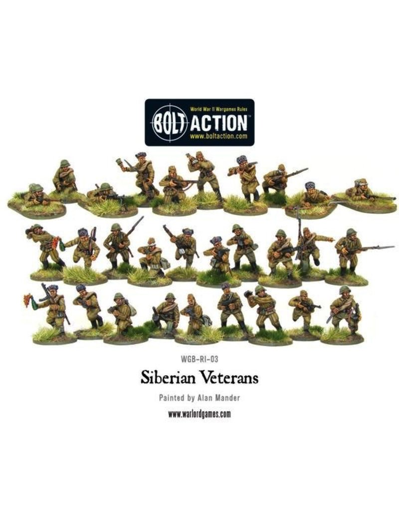 Bolt Action BA Soviet Army: Siberian Veterans