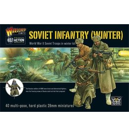 Bolt Action BA Soviet Army: Winter Infantry(plastic)