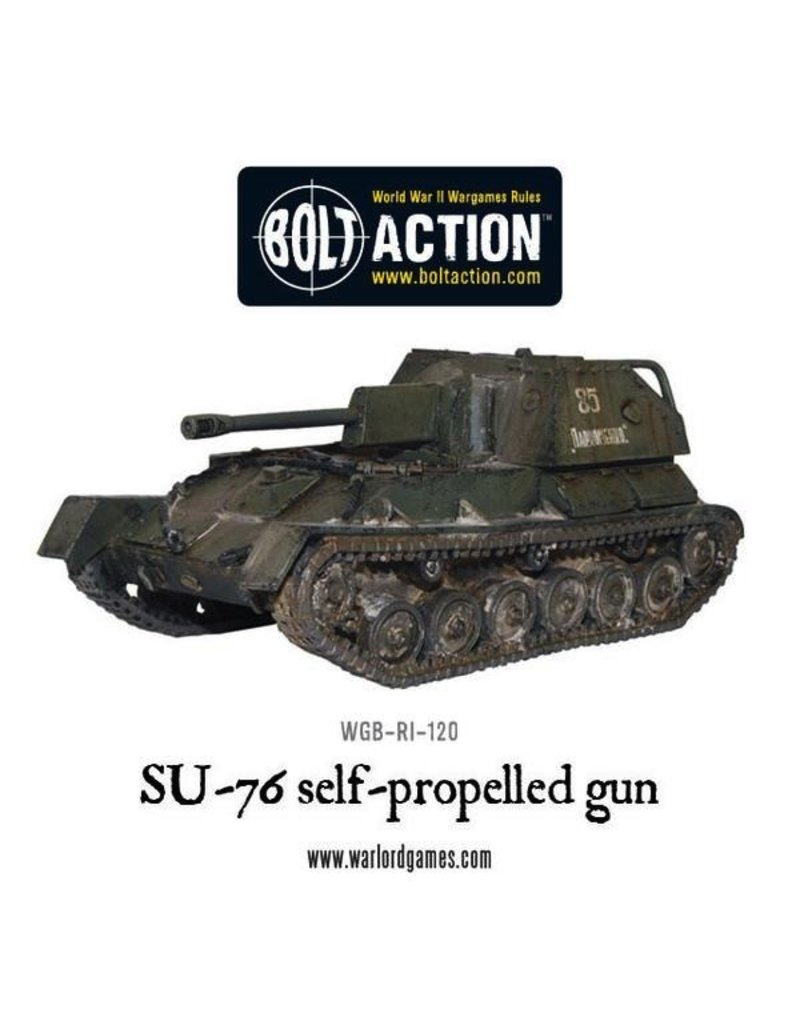 Bolt Action BA Soviet Army: SU-76 Self Propelled Gun