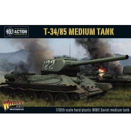 Bolt Action BA Soviet Army: T34/85 Medium Tank