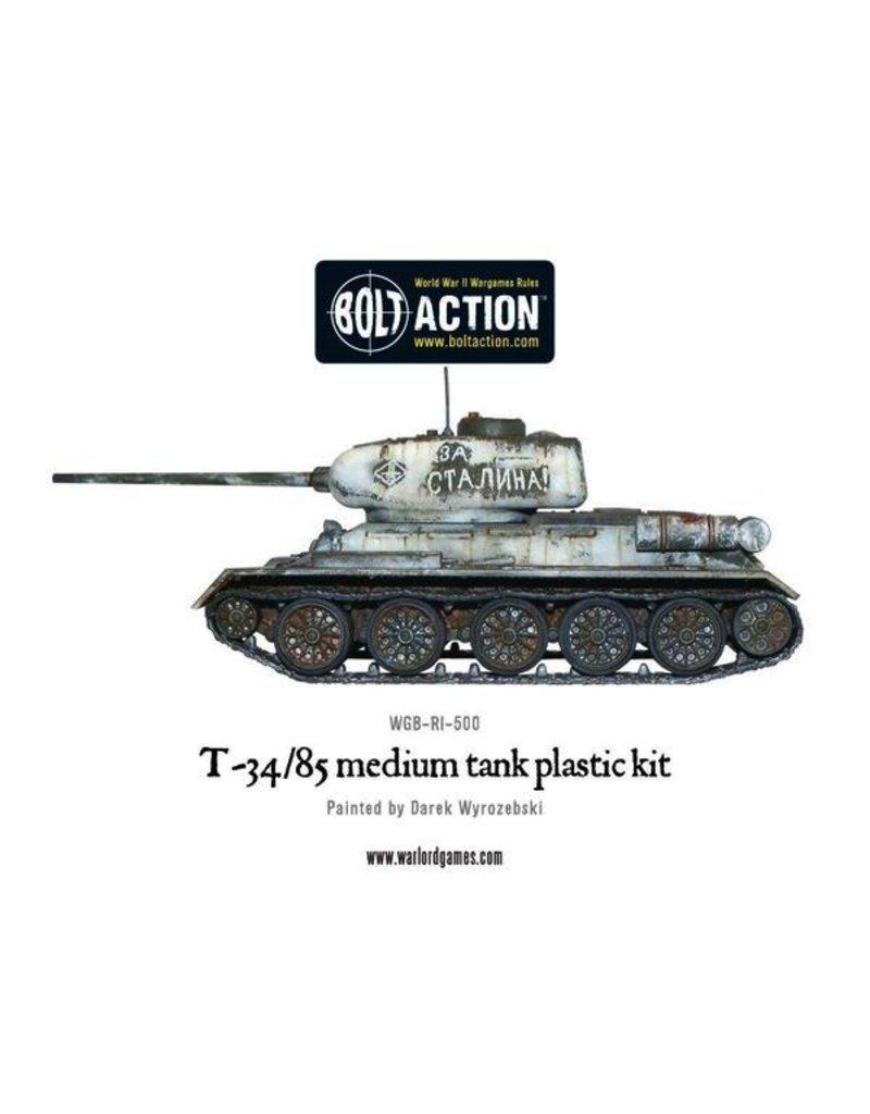 Bolt Action BA Soviet Army: T34/85 Medium Tank
