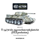 Bolt Action BA Soviet Army: T34/76 Medium Tank (Plastic)