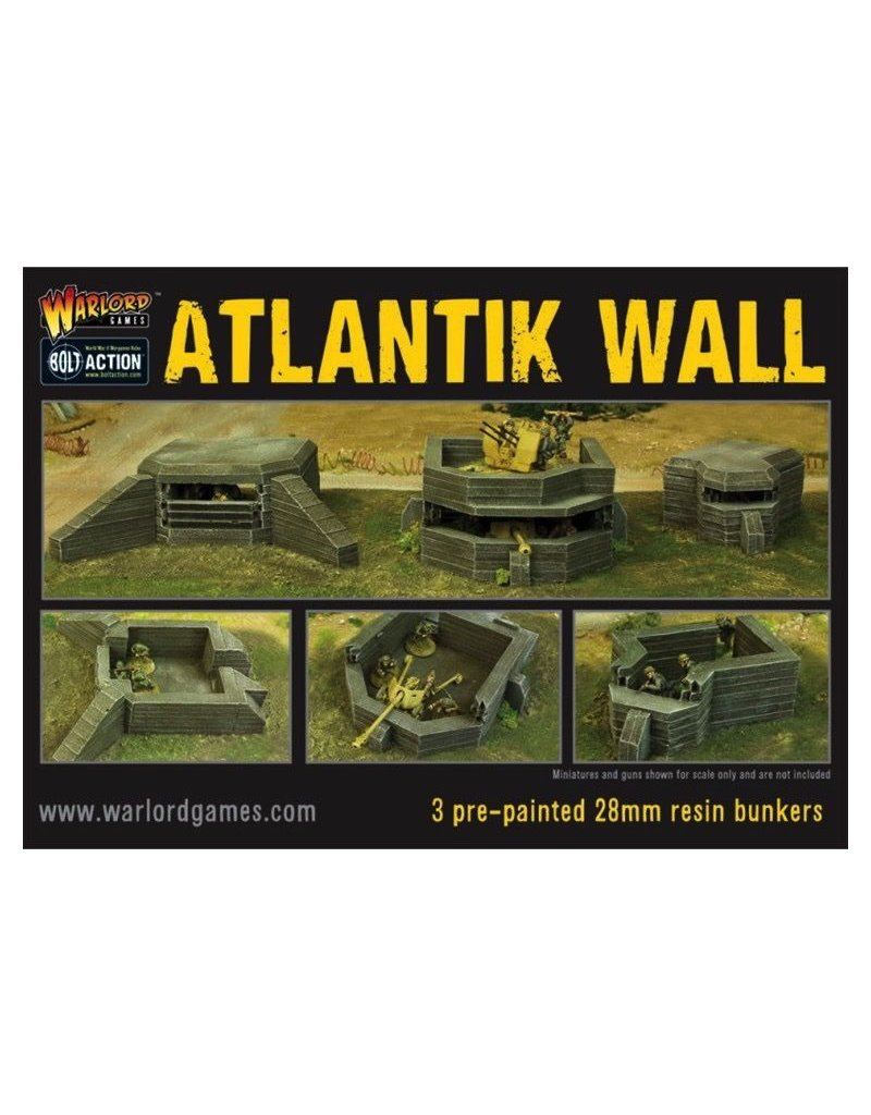 Bolt Action BA Terrain: Atlantik Wall