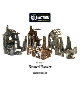 Warlord Games Terrain Ruined Hamlet