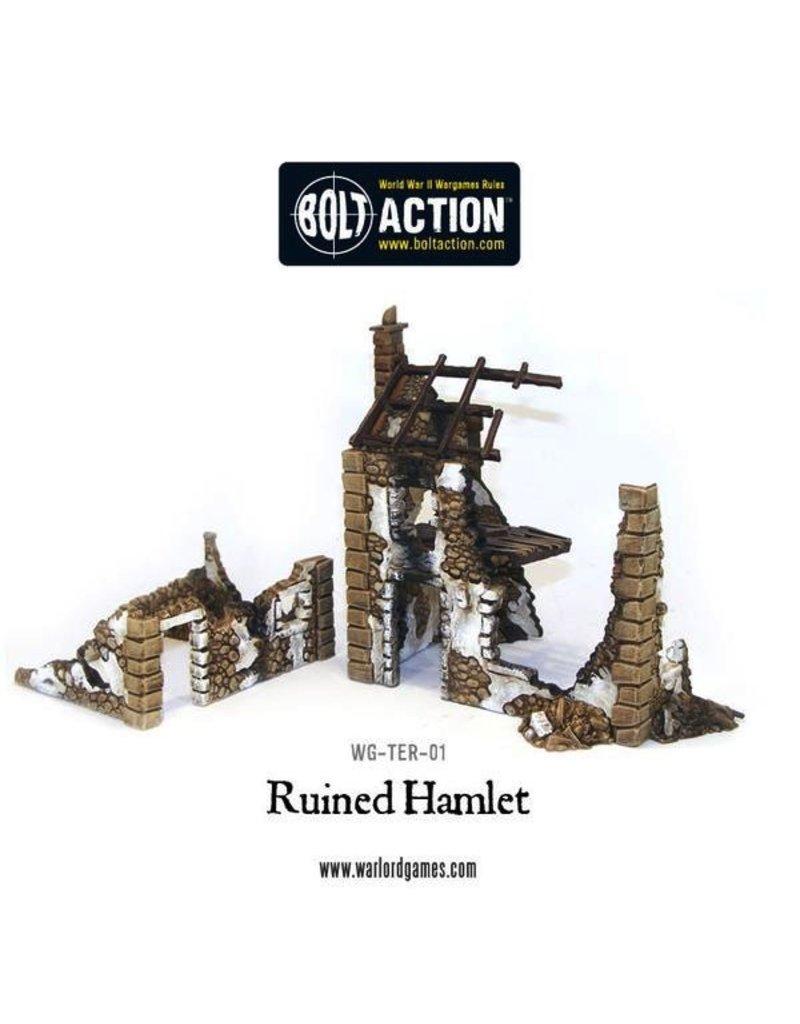 Warlord Games Terrain Ruined Hamlet