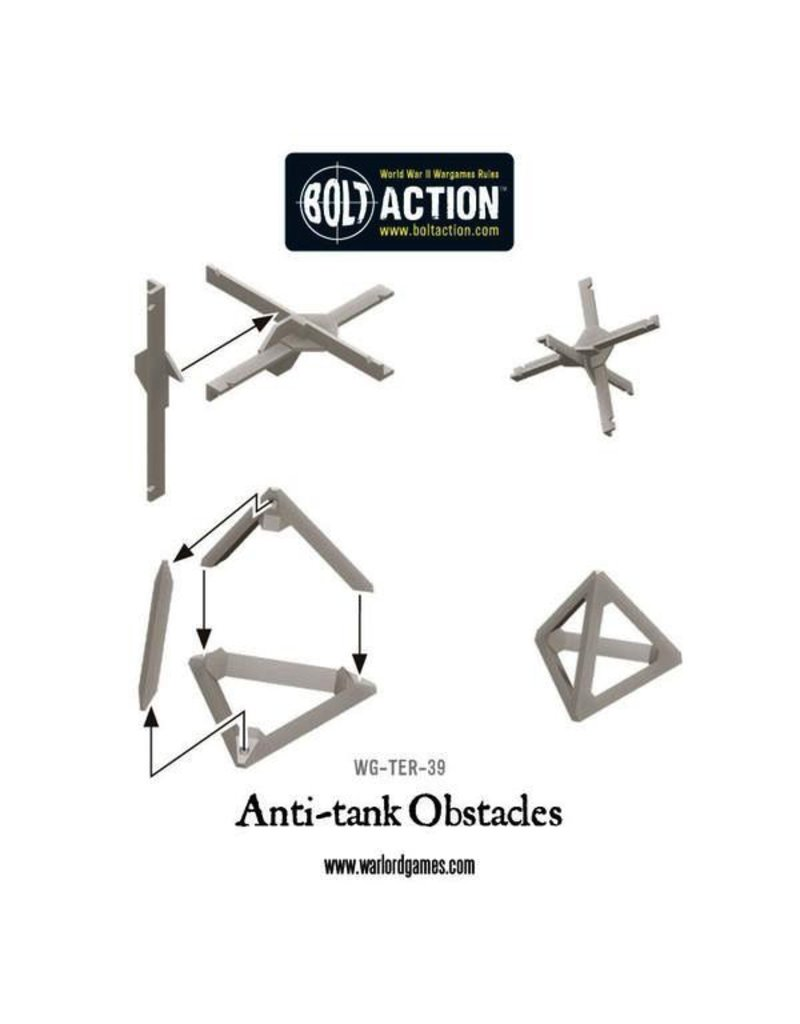 Bolt Action Anti-Tank Obstacles Plastic Box Set