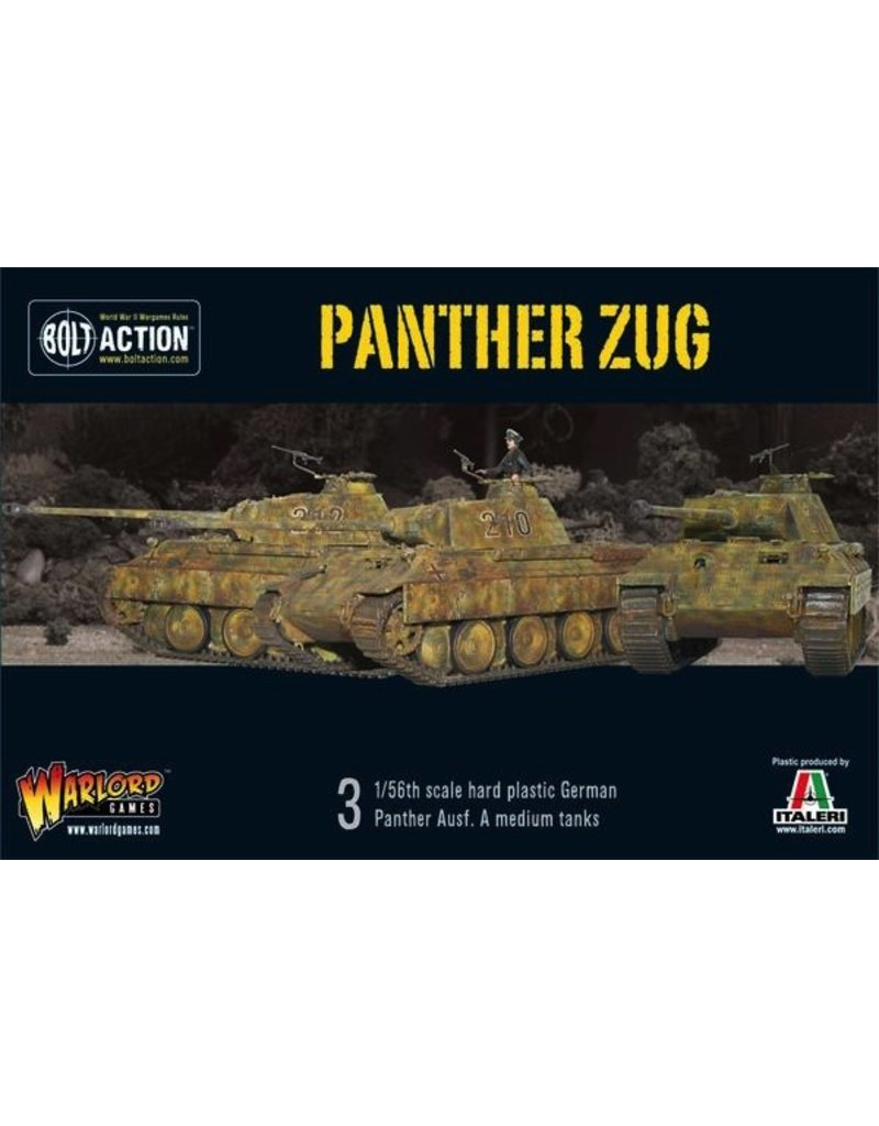 Bolt Action BA German Army: Panther Zug (3)