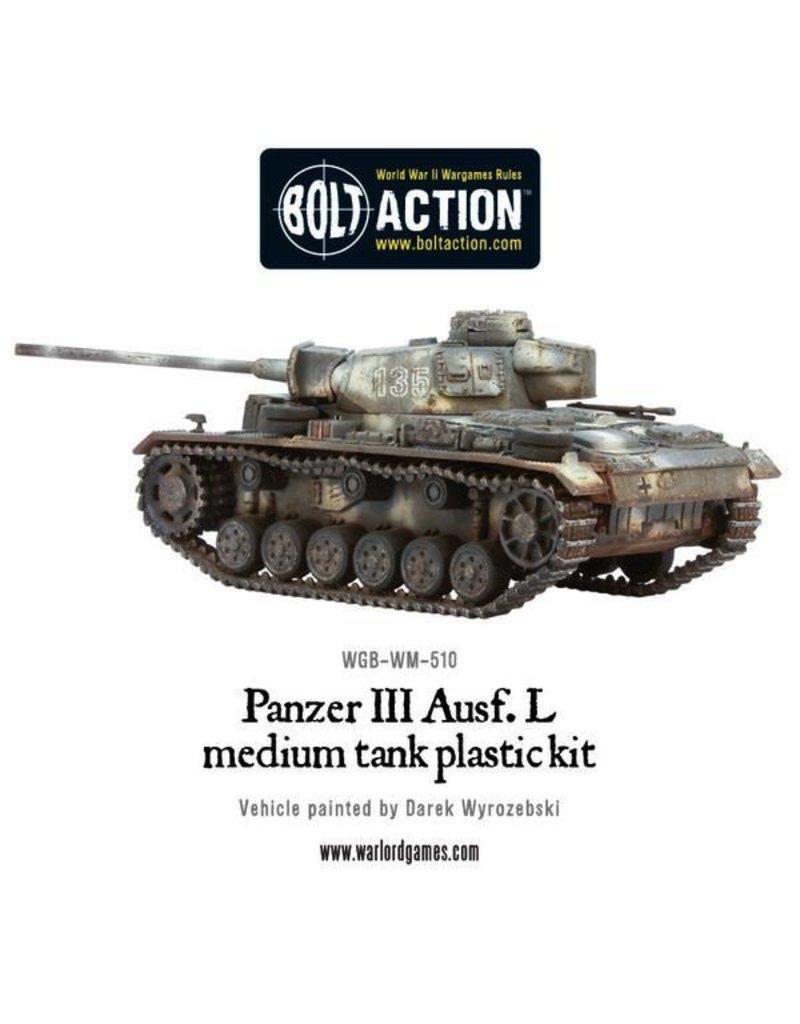 Bolt Action BA German Army: Panzer III Zug (3)