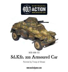 Bolt Action BA German Army: Sdkfz 222 Armoured Car