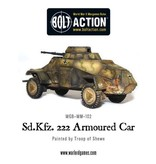 Bolt Action BA German Army: Sdkfz 222 Armoured Car