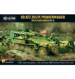 Bolt Action BA German Army: Sd.Kfz 251/7C Pionierwagen with Panzerbuchse 41