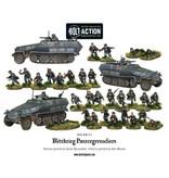 Bolt Action BA German Army: Blitzkrieg Panzergrenadiers (30 + 3 Hanomags)