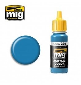 AMMO: of Mig Jimenez DIRECT A.MIG-0229 Acrylic Colors 17ml FS 15102 DARK GRAY BLUE