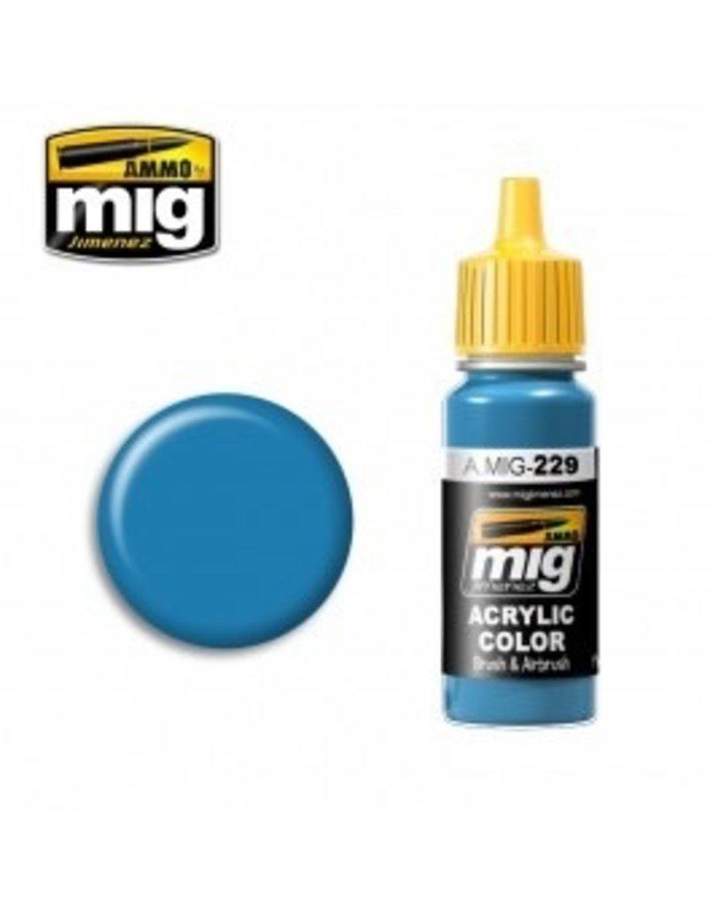 AMMO: of Mig Jimenez DIRECT A.MIG-0229 Acrylic Colors 17ml FS 15102 DARK GRAY BLUE