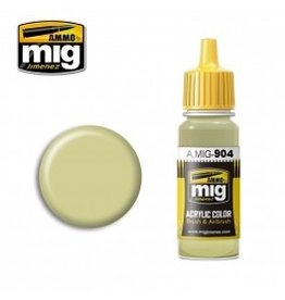 AMMO: of Mig Jimenez DIRECT A.MIG-0904 Acrylic Colors 17ml DUNKELGELB HIGH LIGHT