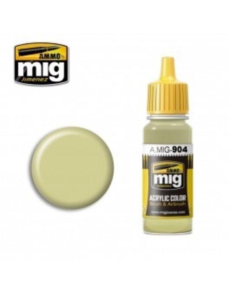 AMMO: of Mig Jimenez DIRECT A.MIG-0904 Acrylic Colors 17ml DUNKELGELB HIGH LIGHT