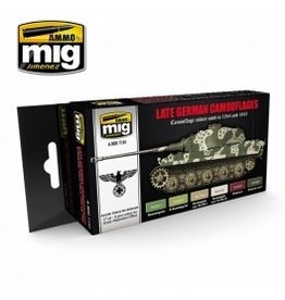 AMMO: of Mig Jimenez DIRECT A.MIG-7101 Acrylic Color Set 6 pcs