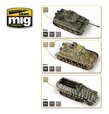 AMMO: of Mig Jimenez DIRECT A.MIG-7116 Acrylic Color Set 6 pcs