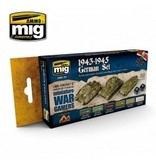 AMMO: of Mig Jimenez DIRECT A.MIG-7117 Acrylic Color Set 6 pcs