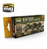 AMMO: of Mig Jimenez DIRECT A.MIG-7119 Acrylic Color Set 6 pcs