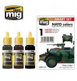 AMMO: of Mig Jimenez DIRECT A.MIG-7114 Acrylic Color Sets 3 pcs