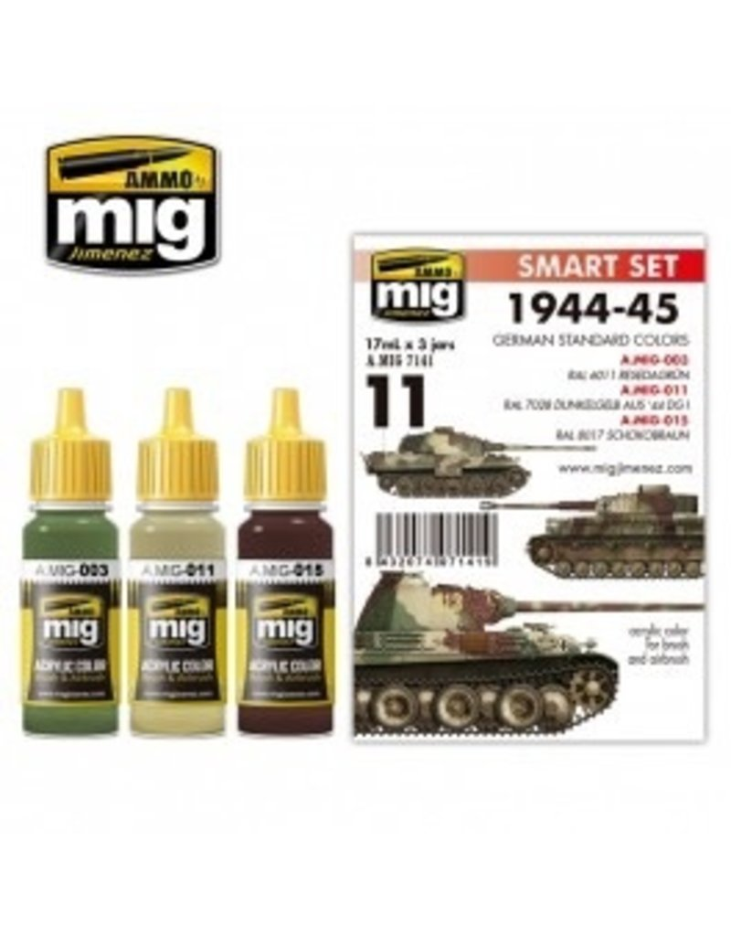 AMMO: of Mig Jimenez DIRECT A.MIG-7141 Acrylic Color Sets 3 pcs