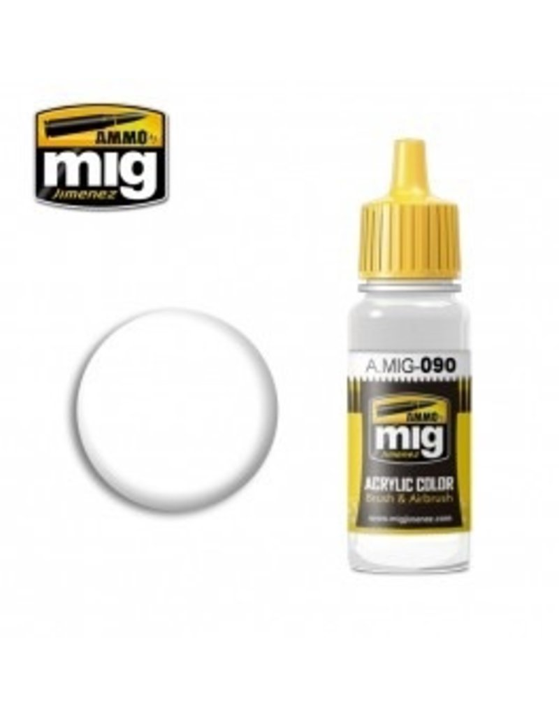 AMMO: of Mig Jimenez DIRECT A.MIG-090 Satin Varnish Acrylic Colors Individual 17ml