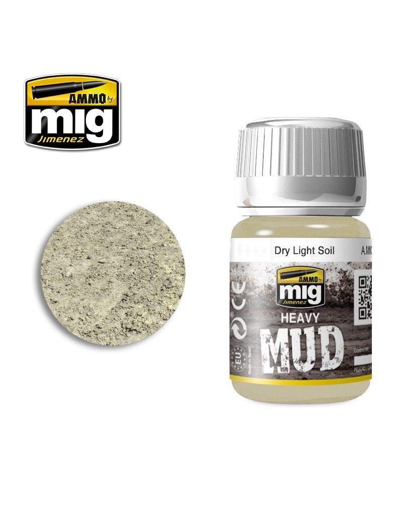 AMMO: of Mig Jimenez A.MIG-1700 DRY LIGHT SOIL